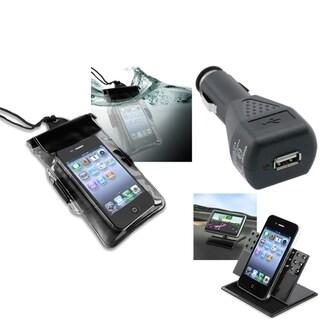 INSTEN Phone Case Cover/ Charger/ Holder for Motorola Droid Razr XT912/ Maxx XT916