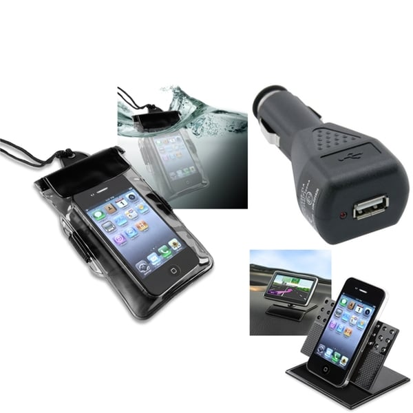 INSTEN Phone Case Cover/ Charger/ Holder for Motorola Droid Razr XT912/ Maxx XT916