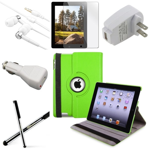 Case/ Chargers/ Stylus/ Headset/ Protector for Apple iPad 3/ New iPad