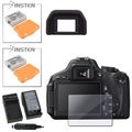 BasAcc Charger/ INSTEN Battery/ Eyecup for Canon EOS Rebel T3i