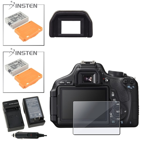 Insten Charger/ Battery/ Eyecup for Canon EOS Rebel T3i