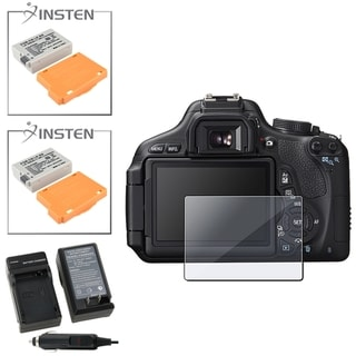 LCD Protector/ INSTEN Battery/ Chargers for Canon EOS Rebel T3i