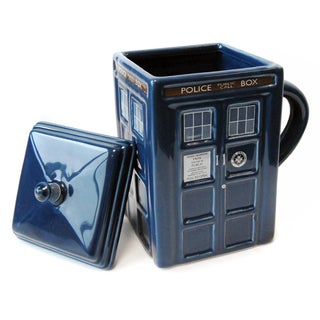 Doctor Who 'Figural TARDIS' Mug with Lid