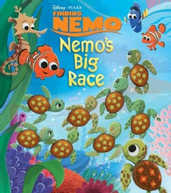 Disney Pixar Nemo's Big Race (Hardcover)