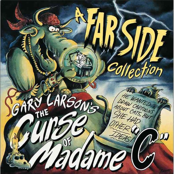 "Gary Larson's the Curse of Madame ""C"": A Far Side Collection (Paperback) 9997728"