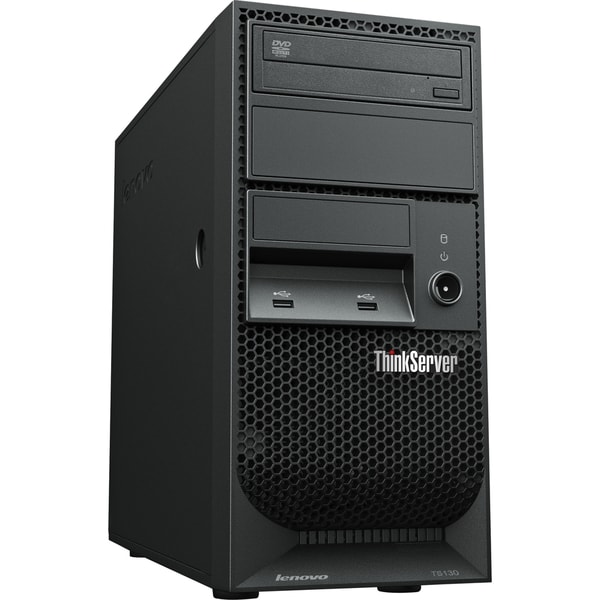 Lenovo ThinkServer TS130 110571U Tower Server - 1 x Intel Xeon E3-124