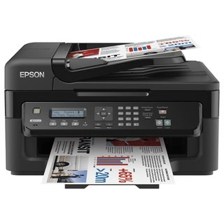 Epson WorkForce WF-2520 Inkjet Multifunction Printer - Color - Plain