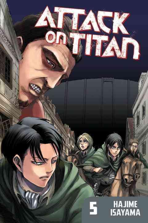 Attack on Titan 5 (Paperback)