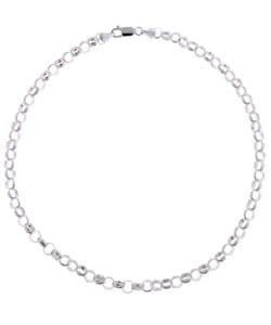 Mondevio Sterling Silver 16 or 20-inch 6.5 mm Rolo Chain Necklace