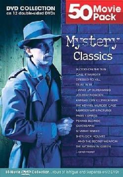 50 Movie Mystery Classics (DVD)