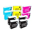 Brother LC51 Compatible Black/Color Ink Cartridges (Set of 10)
