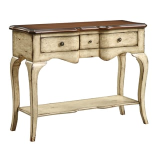 Creek Classics Accent Callands Cream Console Table