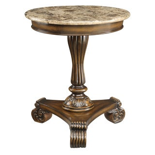 Creek Classics Burnished Brown Accent Table