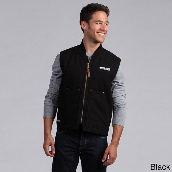 Mens' Embroidered Case IH Heritage Vest