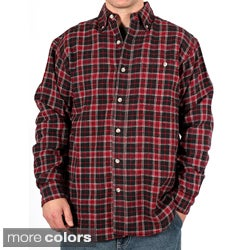 Farmall IH Men's Plaid Cotton Flannel Shirt