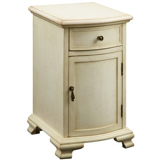 Creek Classics Antique White Chair Side Chest