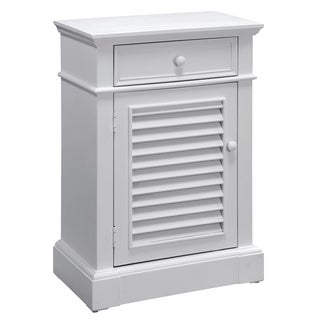 Creek Classics Cottage White Accent Chest