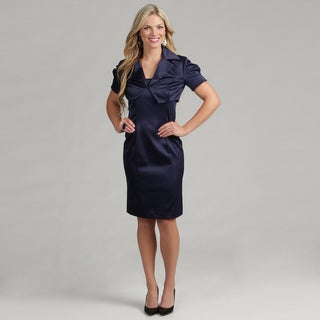 Issue New York Women's 2-piece Navy Jacket Dress