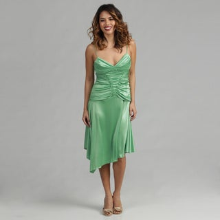 Issue New York Green Short Cocktail Dress