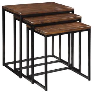 Creek Classics Rustic Nested Tables (Set of 3)