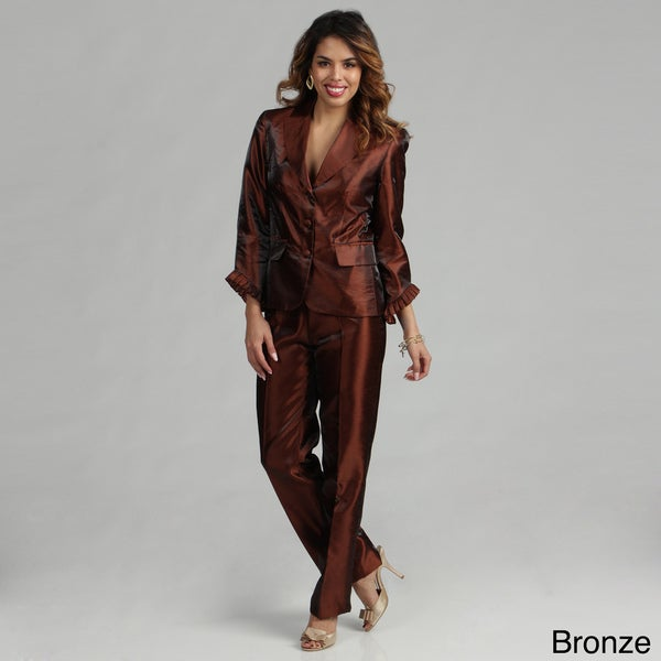 Issue New York Two Piece Skinny Pant Suit