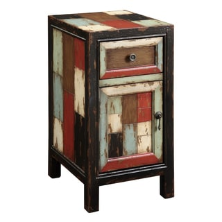Creek Classics Patchwork Chair Side Chest