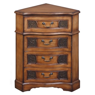 Creek Classics Atkins Medium Brown Accent Chest