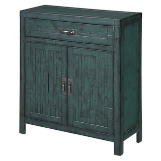 Creek Classics Rustic Teal Accent Chest