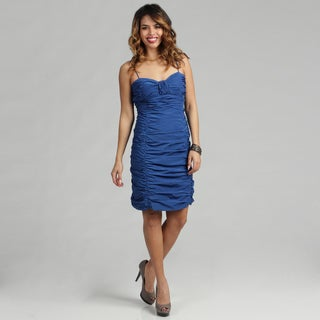 Issue New York Blue Short Cocktail Dress