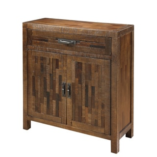 Creek Classics Two Door Rustic Brown Cabinet