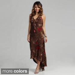 Issue New York womens Silk Printed Dress