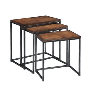 Creek Classics Rich Oak Nesting Tables