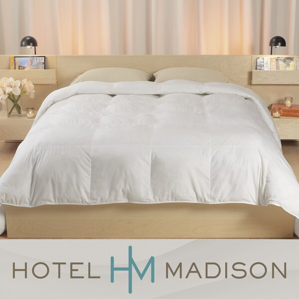 Hotel Madison 1000 Thread Count Egyptian Cotton Down Comforter