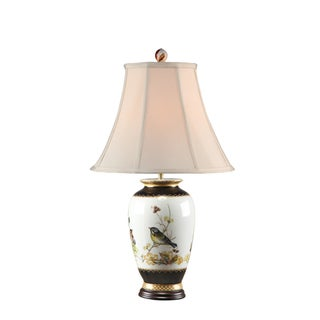 Secret Garden Bird Design Lamp
