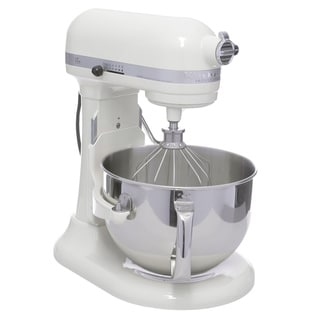 KitchenAid Almond Cream RKP26M1XAC 6-quart Pro 600 Bowl-Lift Stand Mixer (Refurbished)