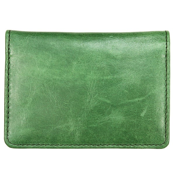 YL Fashion Leather Wallet, Credit Card Holder in Green Design