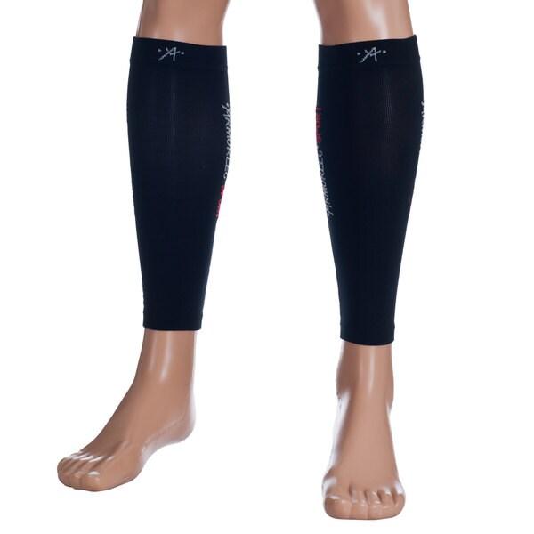Remedy Calf Sport Compression Running Sleeve Black Socks