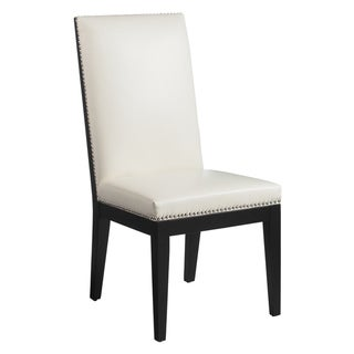 Sunpan St. Tropez Dining Chairs with Ivory Upholstery (Set of Two)