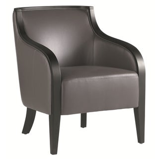 Sunpan Newport Leather Armchair