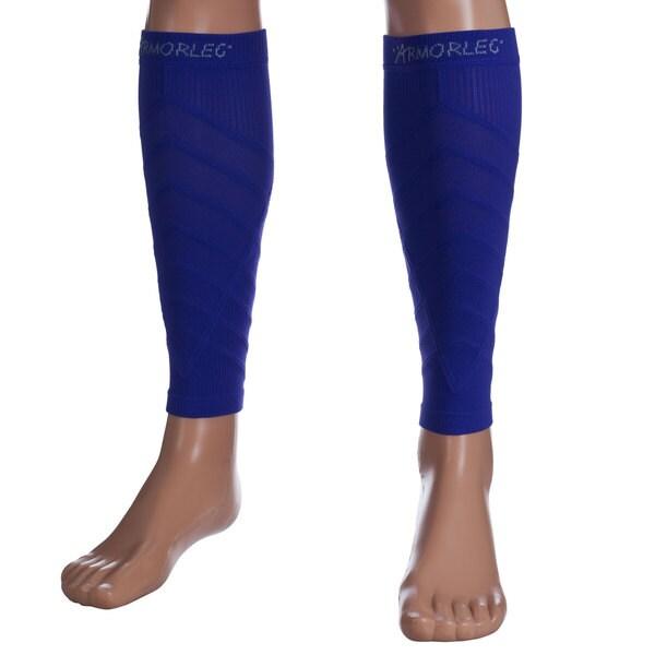 Remedy Purple Calf Compression Running Sleeve Socks