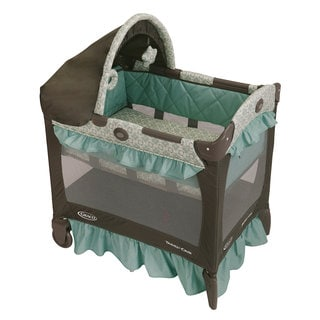 Graco Travel Lite Crib in Winslet
