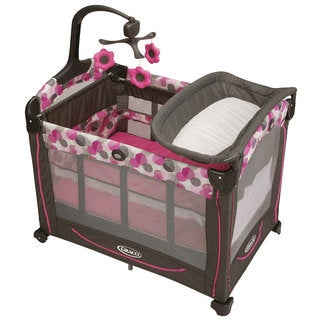 Graco Element Pack 'n Play Playard with Stages in Lexi