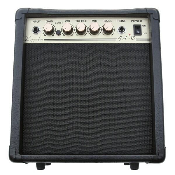 Electric Guitar 'Zeppelin' 15-watt Practice Amplifier