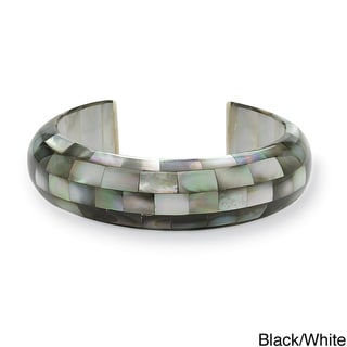 Angelina D'Andrea Mother of Pearl Cuff Bracelet