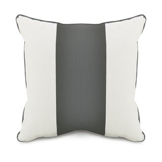 Oilo Corded Pewter Band 18 x 18 Pillow
