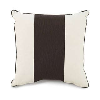 Oilo Corded Brown Stripe 18 x 18 Pillow