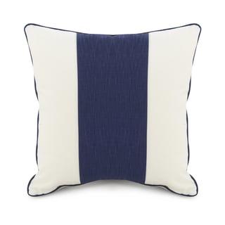 Oilo Cobalt Blue Striped 18 x 18 Pillow