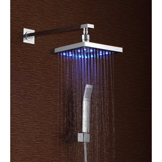 Sumerain Thermal LED Shower Faucet with Rainfall Sprayer