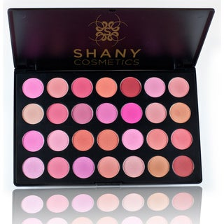 Shany 28 Neutral to Warm Color Eyeshadow and Blush Palette