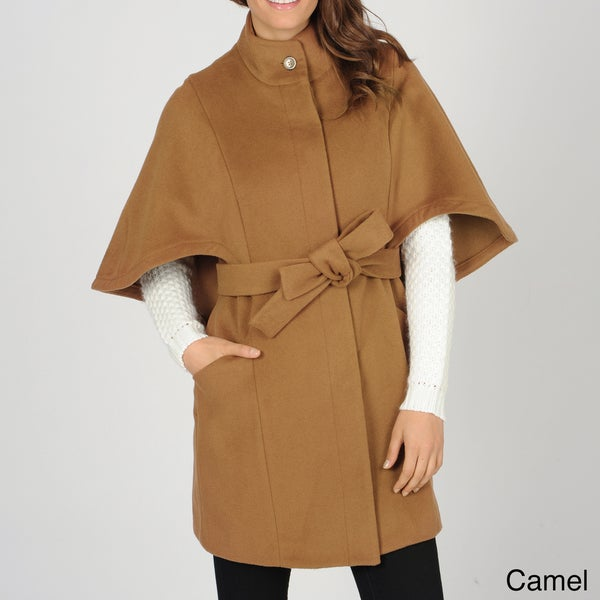 Hilary Radley Women's Belted Single Breasted Cape